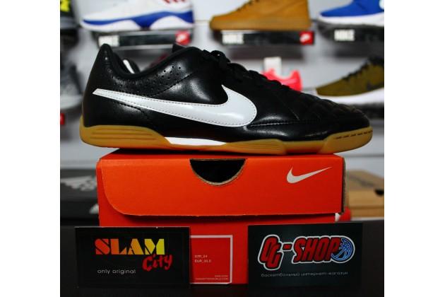 Nike JR Tiempo Rio II IC - Детские Футбольные Кроссовки