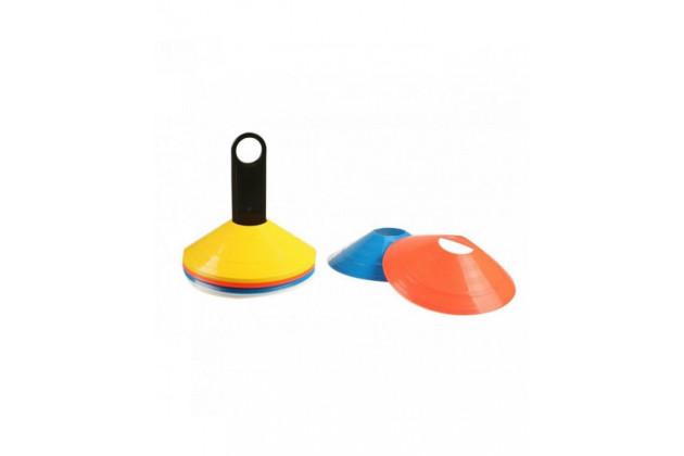 LiveUp Agility Cones With Rack - Набор фишек с подставкой 20 штук