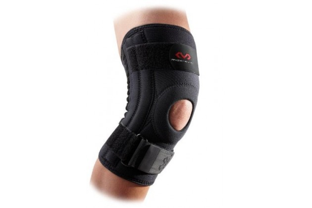 McDavid Neoprene Patella Knee Support With Spring Steel Stays - Укрепляющий наколенник