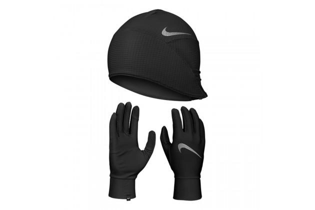 Nike Mens Essential Running Hat and Glove Set - Набор для Бега