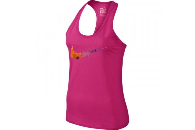 Nike Swoosh Splatter Tank - Женская Спортивная Майка