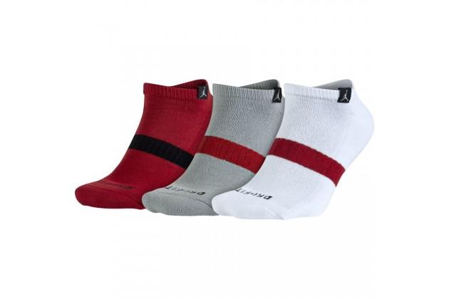 Jordan Dri-Fit No Show 3 Pack Socks - Баскетбольные носки (3 пары)