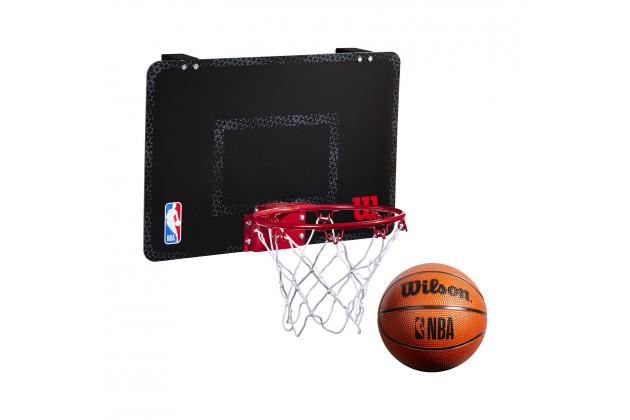 Wilson NBA Forge Acrylic Mini Hoop - Баскетбольное Мини-кольцо(+30 стикеров команд NBA)
