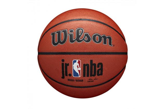Wilson Jr. NBA Authentic Indoor/Outdoor Basketball - Универсальный Баскетбольный Мяч