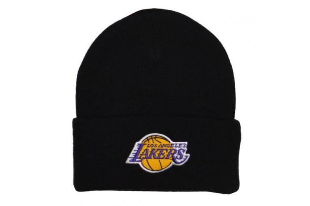Mitchell & Ness NBA Los Angeles Lakers Team Tone Knit - Мужская Шапка