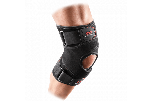 McDavid Vow™ Knee Support Wrap With Stays And Straps - Укрепляющий наколенник