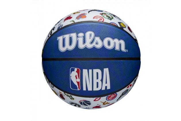Wilson NBA All Team Basketball Outdoor - Уличные Баскетбольный Мяч