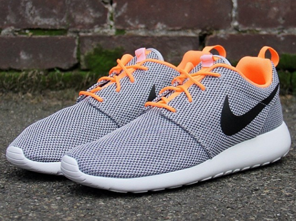 Nike Roshe Grey Orange
