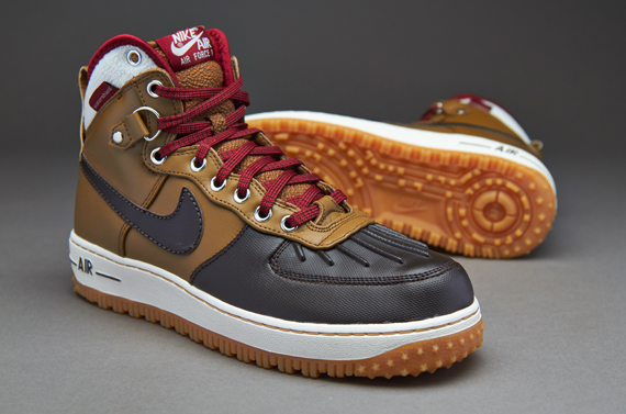 big sale becc7 10812 ... duckboot umber nike air force 1 duckboot . ...